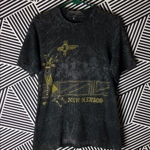 Vintage 1980s New Mexico full print state t Shirt